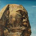 Walking in Egypt   Öl aufLeinwand   80 x 80 cm