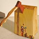 Buchlektüre in Holz II.